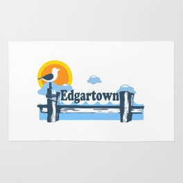 Edgartown - Martha's Vineyard. Rug