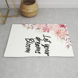 Let Your Dreams Bloom Rug