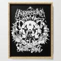Red Panda Death Metal cutie Aggretsuko by arkel1