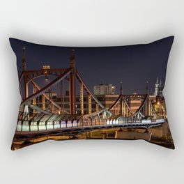Ulm Minster Church and Bridge Rectangular Pillow
