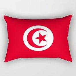 flag of tunisia -tunisie, tunisian,tunis,Maghreb. Rectangular Pillow