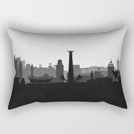 City Skylines: Umm Al Quwain Rectangular Pillow