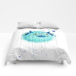 Neptune's Pufferfish Comforters
