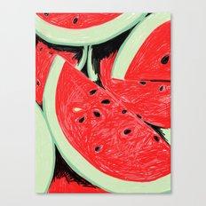 Watermelon, 2013. Canvas Print