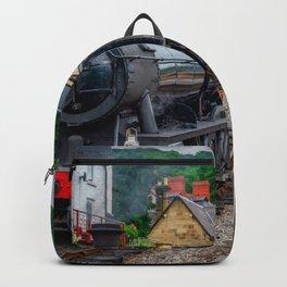 Steam Locomotive Wales Backpack