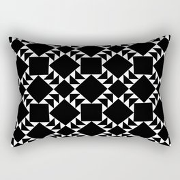 New Mexico Moon - By SewMoni Rectangular Pillow