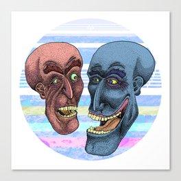 Martian Brawlers  Canvas Print
