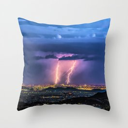 So Much Time Lost Throw Pillow