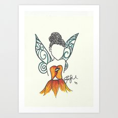 Iridessa Zen Tangle Art Print