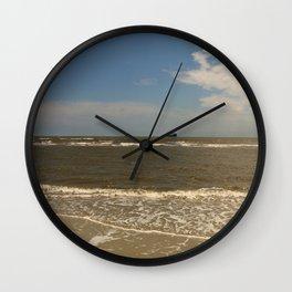 St Simons Island Beach Wall Clock