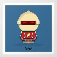 ChibizPop: Ayiyiyiyi Art Print