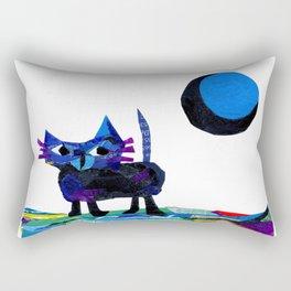 i see the moon .... Rectangular Pillow
