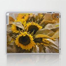 Dried Sunflowers Laptop & iPad Skin