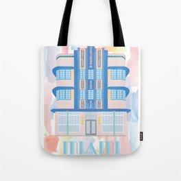 Miami Landmarks - Marlin Tote Bag