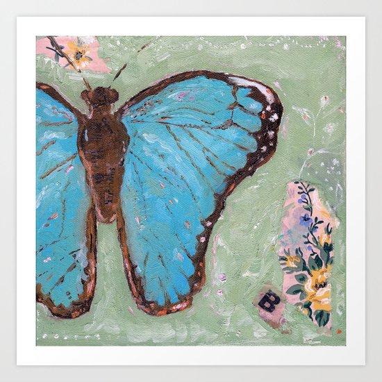 Take Flight Butterfly Art Print