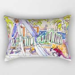 20170225A USKSG Dakota Crescent Playground Rectangular Pillow