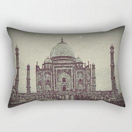 Taj chrome Rectangular Pillow