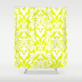 Lemon Fancy Shower Curtain