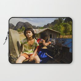 Lost In Thoughts Laptop Sleeve