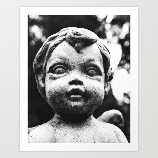 I see your soul Art Print