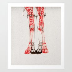 WILDLIFE IX Art Print