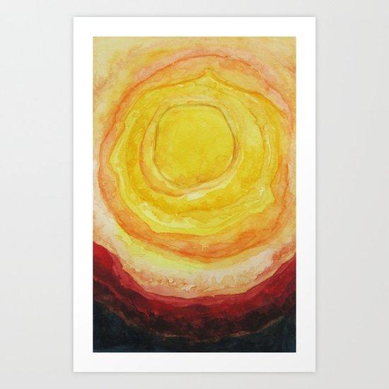 The Hot Blazing Sun Is All I Need Art Print