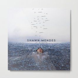 shawn mendez in wonder 2021 desem Metal Print