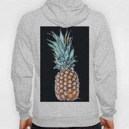 Pineapple On A Black Background #decor #society6 Hoody
