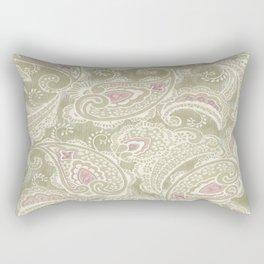 batik paisley warm Rectangular Pillow
