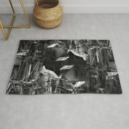 Post-Modern Industrial Complex:  The Art of Regressing Rug