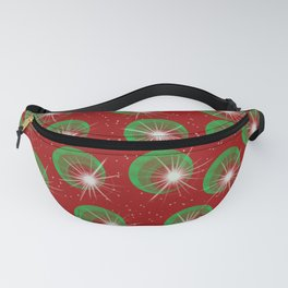 Sparkly Christmas Balls Fanny Pack