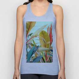 Tropical Jungle Unisex Tank Top