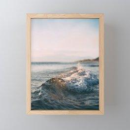 Beautiful Ocean Waves Framed Mini Art Print
