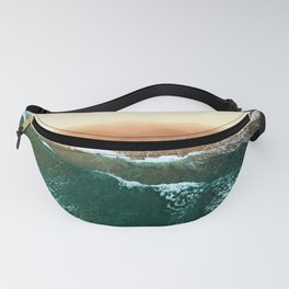 moody nights by the beach Fanny Pack