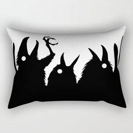 Evil birds Rectangular Pillow