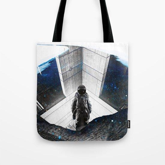 Astronaut Isolation Tote Bag