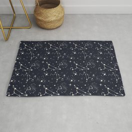 Zodiac Constellations - Leo Rug