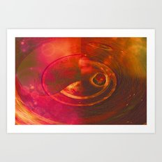 INTO THE BLACK HOLE - 071 Art Print