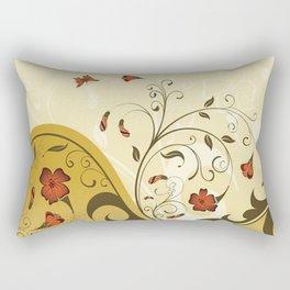 Art Flowers V13 Rectangular Pillow