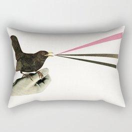 Bird in the Hand Rectangular Pillow