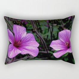 Pink Hibiscus Rectangular Pillow