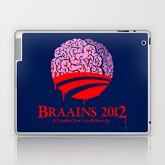 Vote Braains 2012 - A Zombie You Can Believe In Laptop & iPad Skin