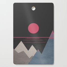 Minimal Sunset 10 Cutting Board