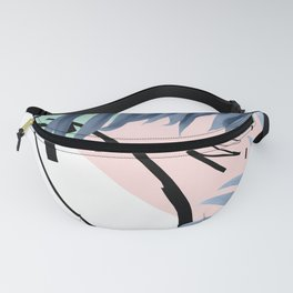 Summer Palms Cali Vibes Abstract Glam #1 #tropical #decor #art #society6 Fanny Pack