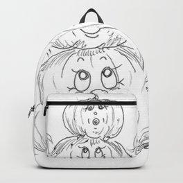 Pumpkin Totem Backpack