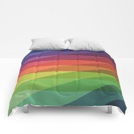 Fig. 040 Rainbow Stripes Comforters