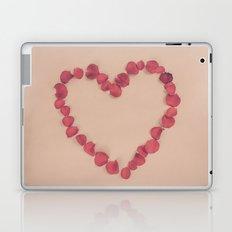 Rose Petal Heart Laptop & iPad Skin