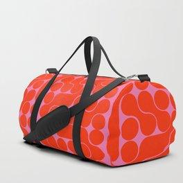Abstract mid-century shapes no 6 Duffle Bag