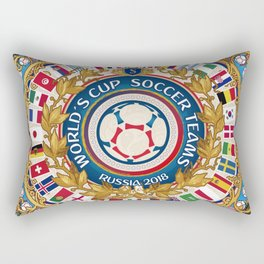 World Cup 2018 Rectangular Pillow