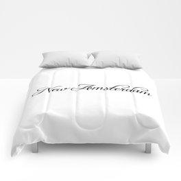 New Amsterdam Comforters